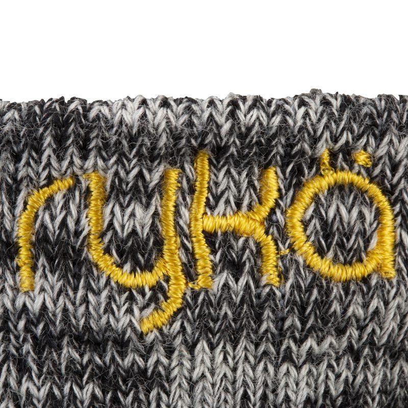RYKA足袋型ソックス丈9cm(R-SOX-9/BKM)写真