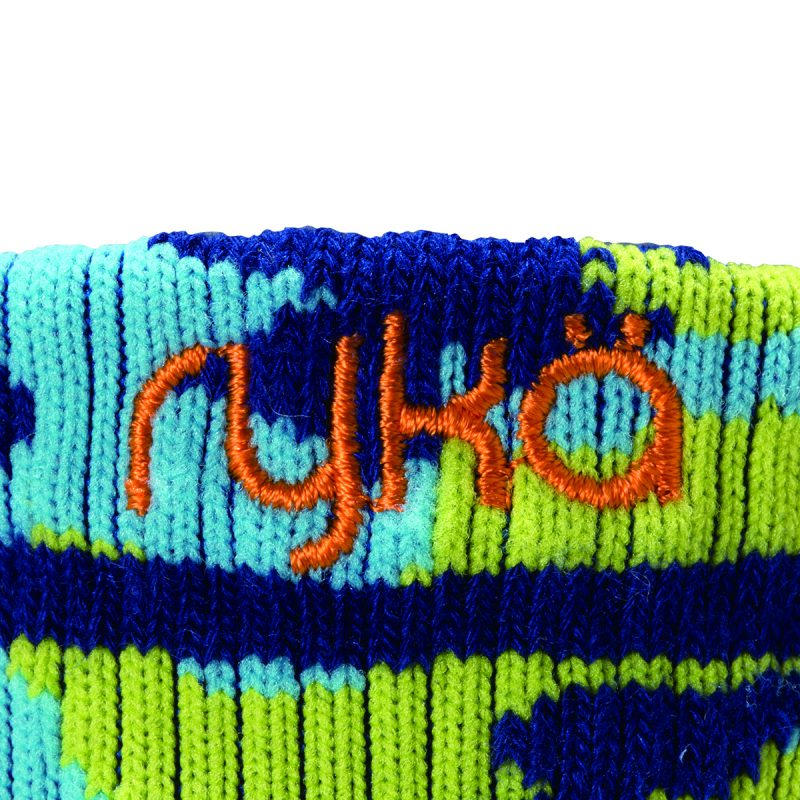 RYKA足袋型ソックス丈9cm(R-SOX-9/BLC)写真