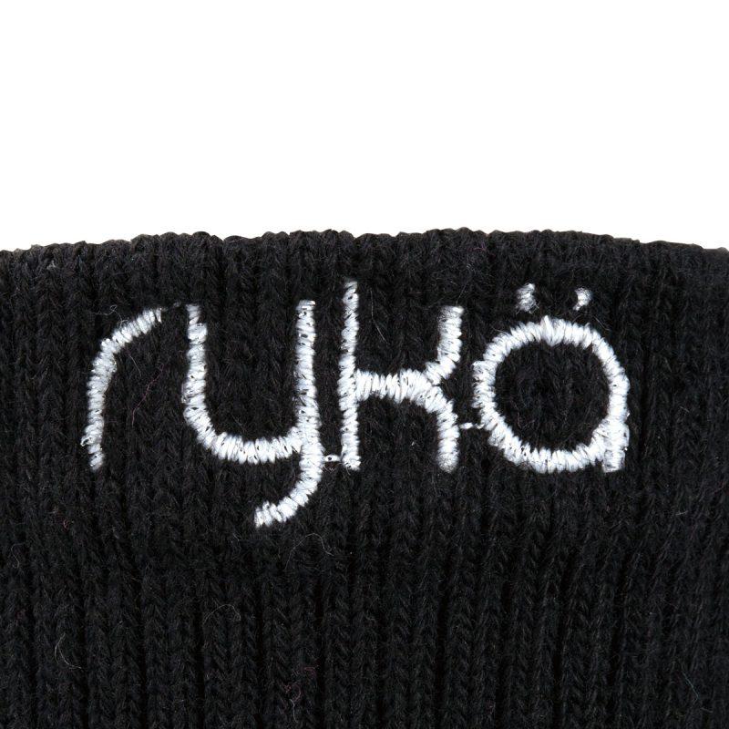 RYKA足袋型ソックス丈9cm(R-SOX-9/BLK)写真