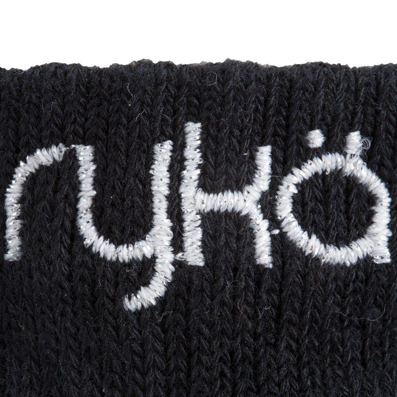 RYKA足袋型ソックス丈6cm(R-SOX-6/BBK)写真